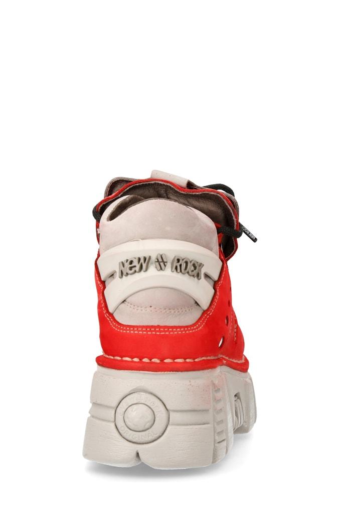 Красные кроссовки из нубука 106-C72, 11