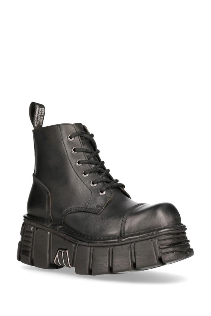 Кожаные ботинки на платформе MILI214B, 3