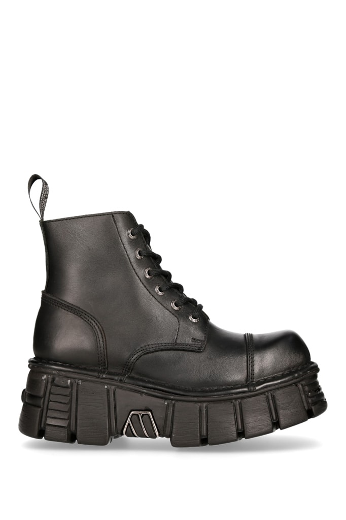 Кожаные ботинки на платформе MILI214B, 5