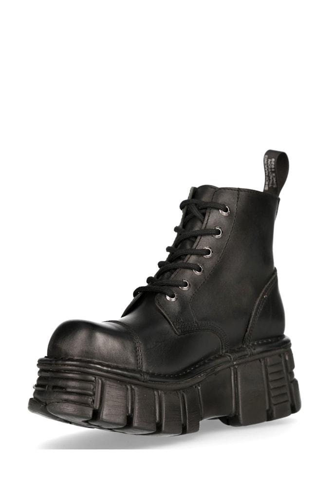 Кожаные ботинки на платформе MILI214B, 7