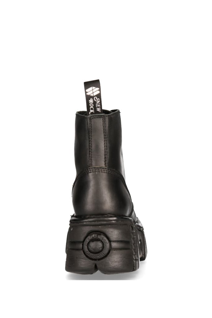 Кожаные ботинки на платформе MILI214B, 11