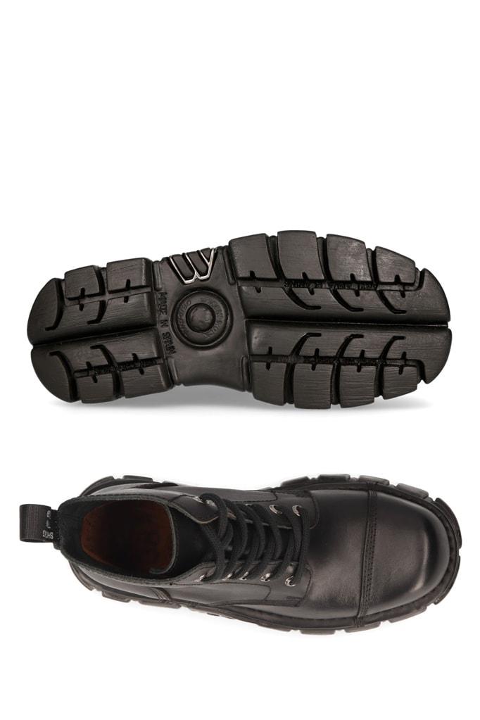Кожаные ботинки на платформе MILI214B, 9