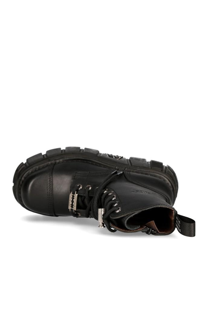 Кожаные ботинки на платформе NEW08321, 7