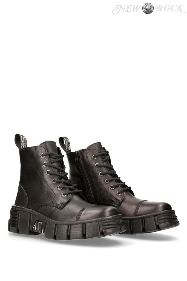 Кожаные ботинки New Rock WALL005