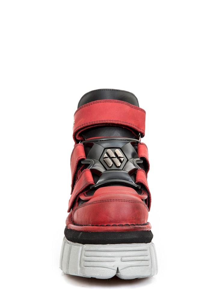 Ботинки кожаные ALASKA ROJO 285-S39, 5