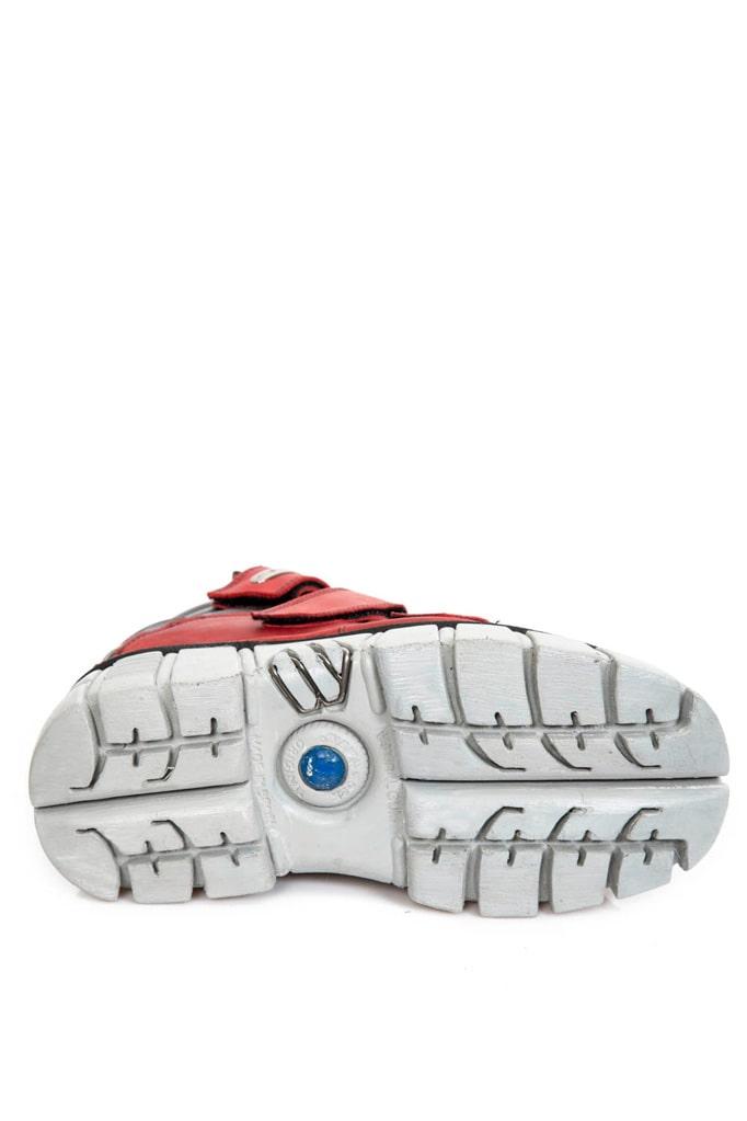 Ботинки кожаные ALASKA ROJO 285-S39, 13