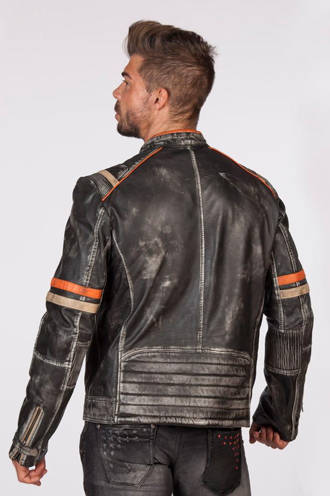 Мужская куртка из натуральной кожи New Rock, 7