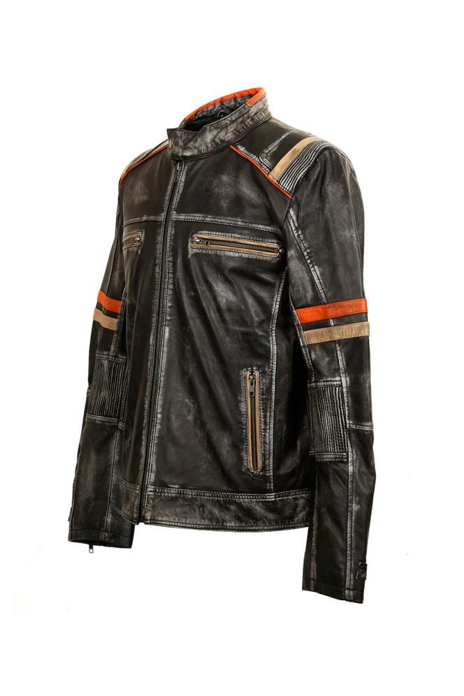 Мужская куртка из натуральной кожи New Rock, 13