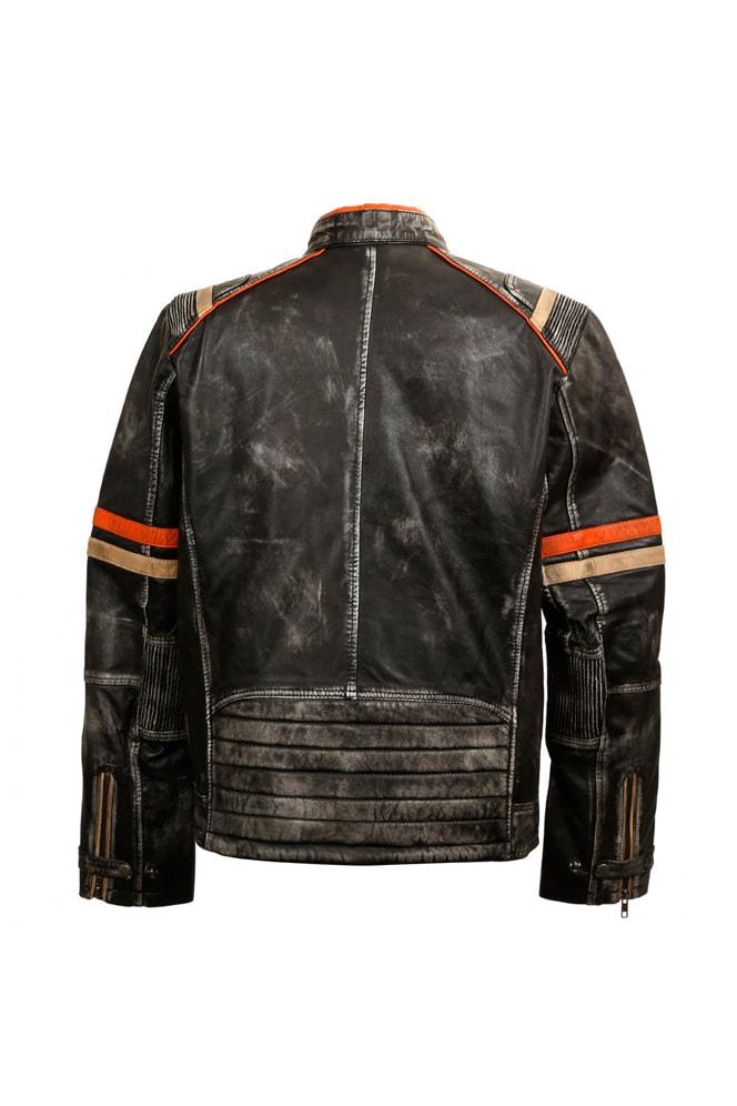 Мужская куртка из натуральной кожи New Rock, 15