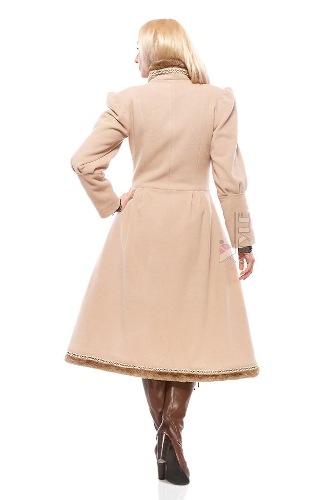 Зимнее винтажное пальто X5038, 3