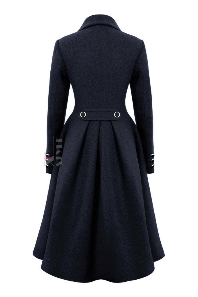 Зимнее пальто из натуральной шерсти Х115054, 3