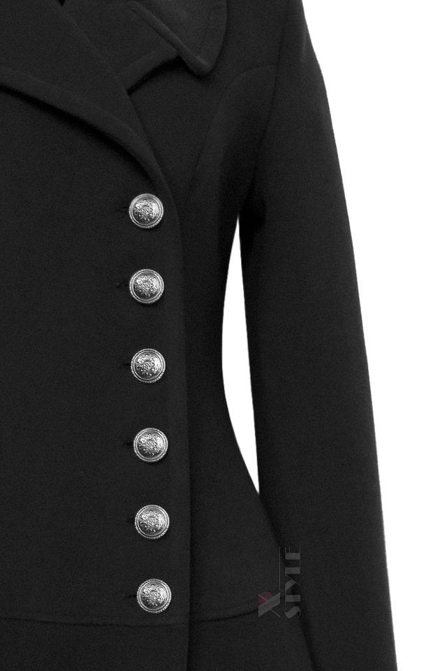 Винтажное зимнее шерстяное пальто X5078, 5