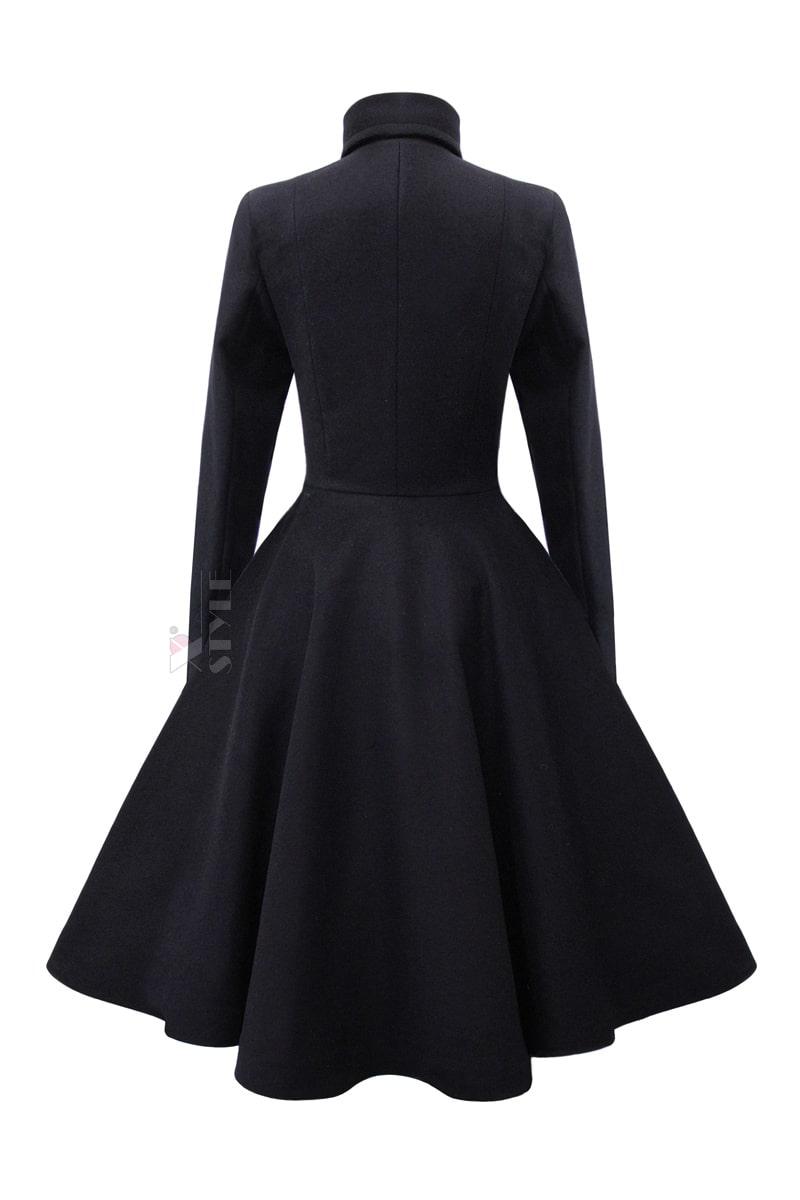 Шерстяное пальто в стиле Ретро Xstyle, 3