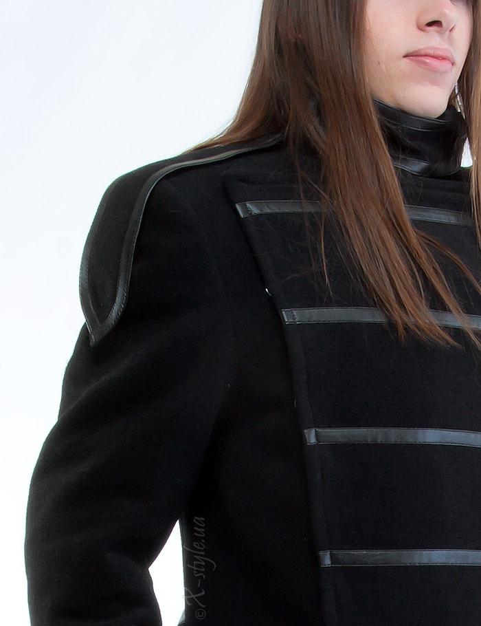 Длинное мужское пальто, 3