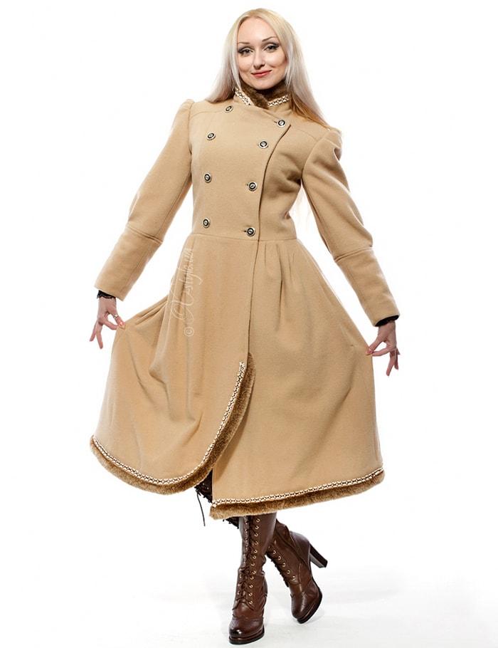 Женское кашемировое пальто X-Style, 5