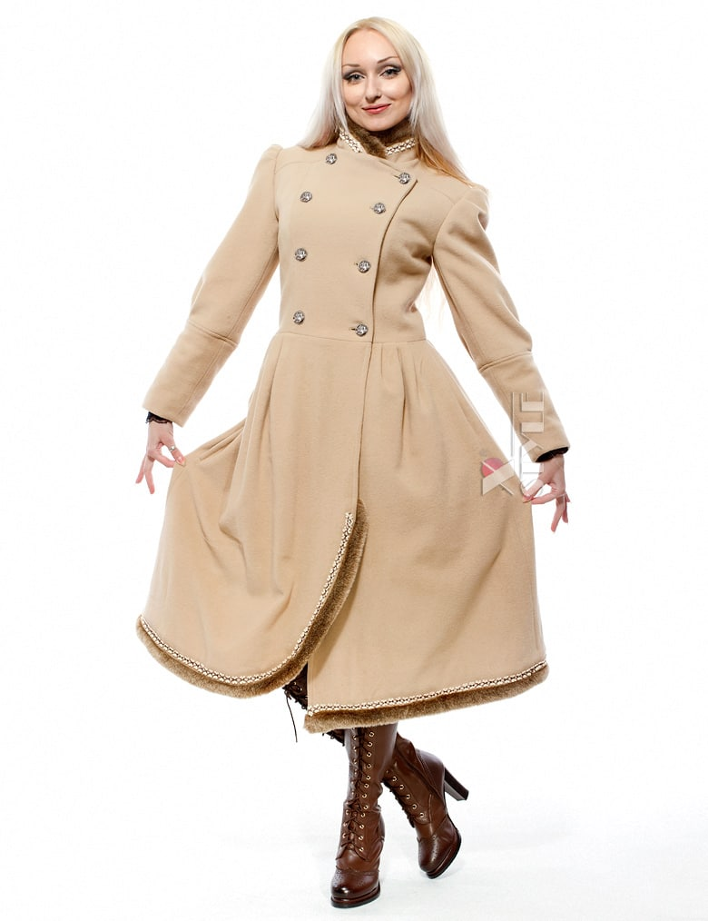 Женское зимнее кашемировое пальто X-Style, 5