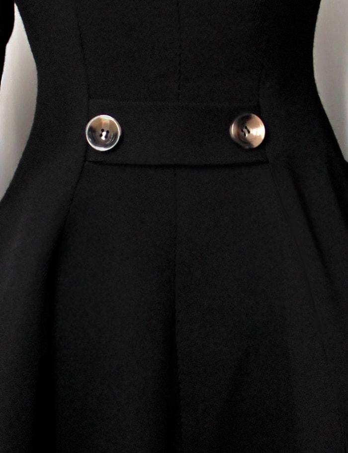 Зимнее пальто с капюшоном X15052, 7