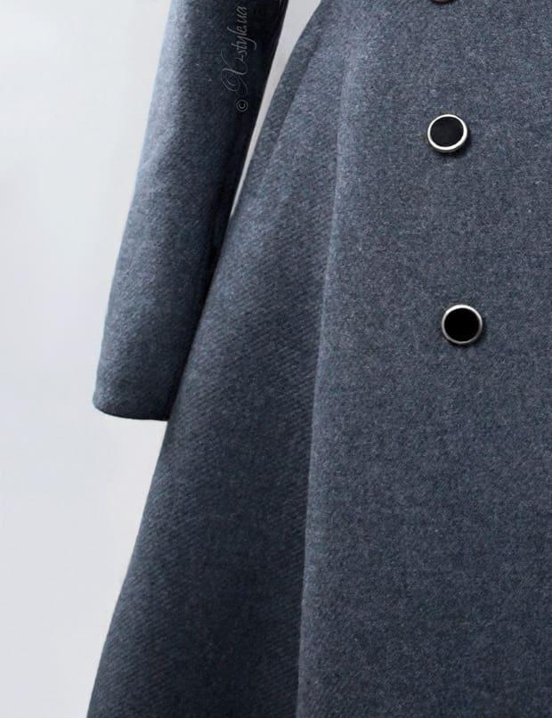 Зимнее пальто из натуральной шерсти 115054, 5