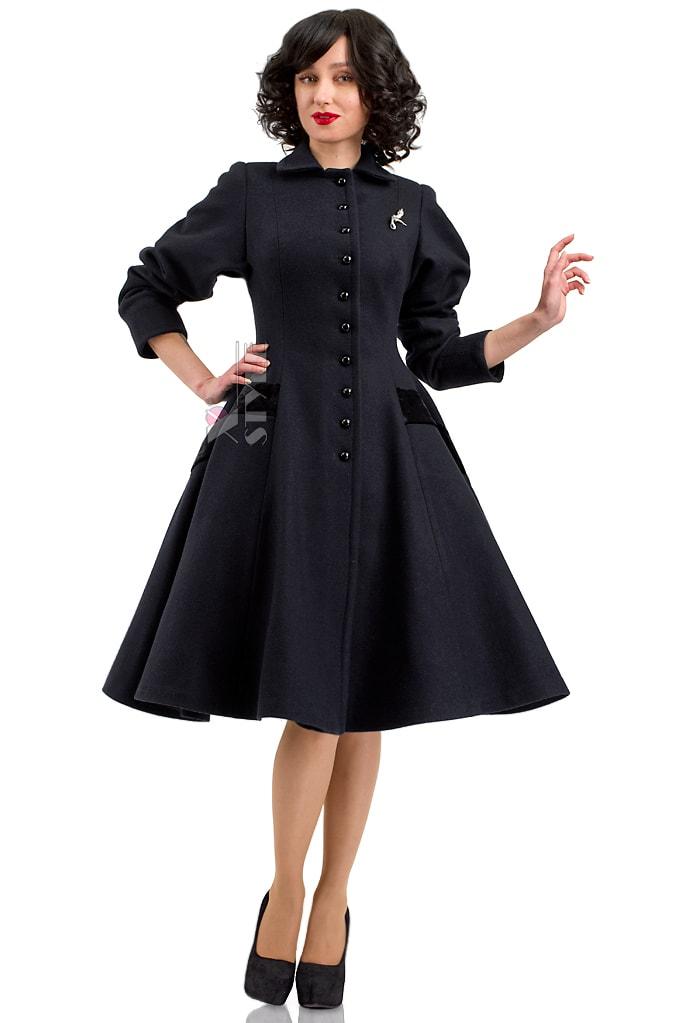 Винтажное пальто из натуральной шерсти X-Style, 9