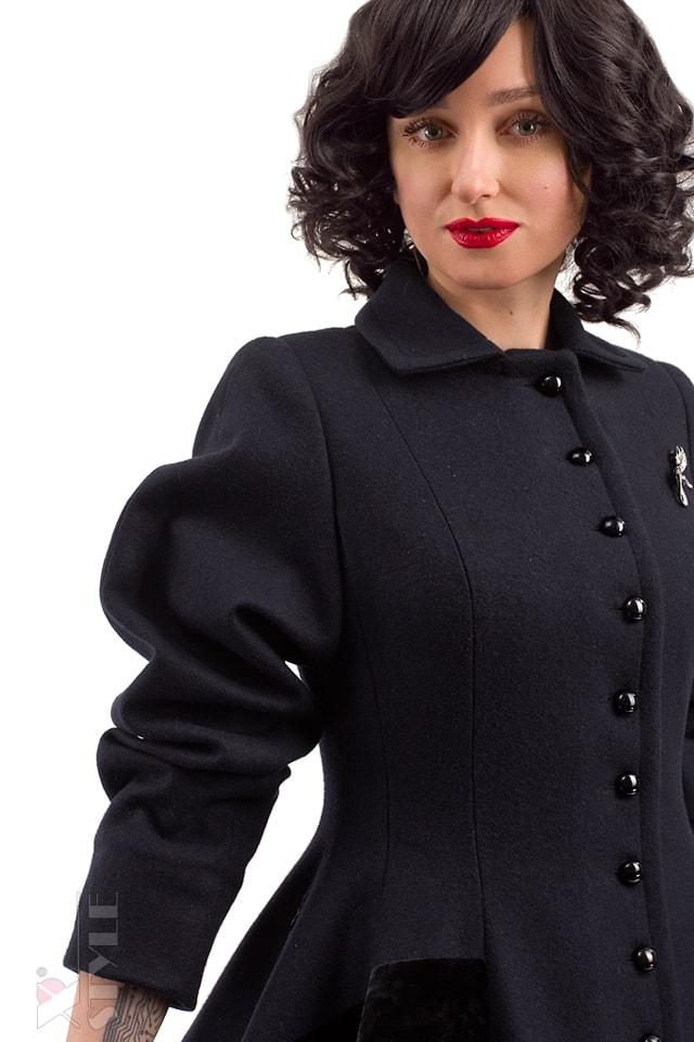 Винтажное пальто из натуральной шерсти X-Style, 7