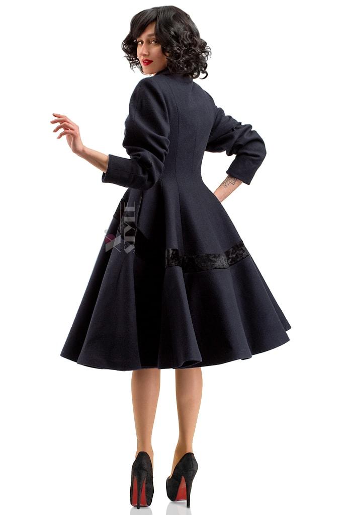 Винтажное пальто из натуральной шерсти X-Style, 3