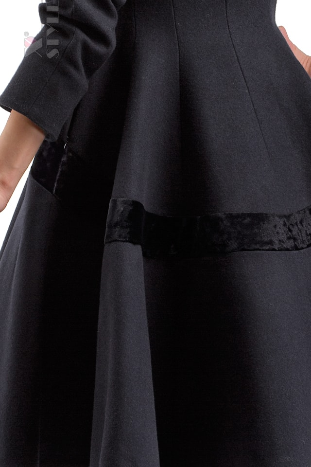 Винтажное пальто из натуральной шерсти X-Style, 5