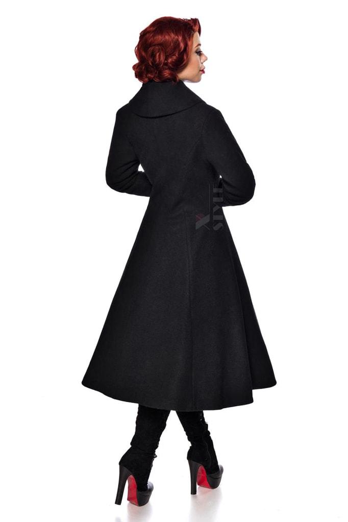 Винтажное длинное пальто из шерсти Belsira, 5