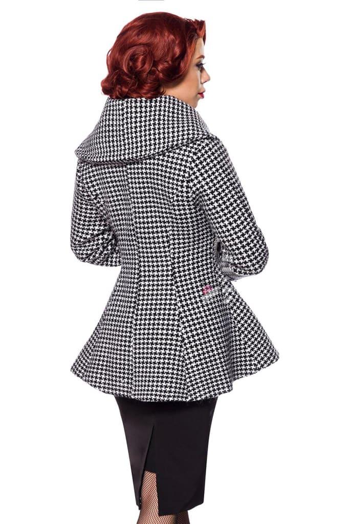 Винтажное пальто с баской, 3