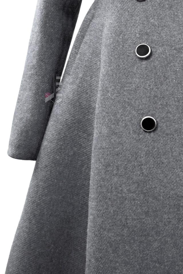 Зимнее шерстяное пальто X5054, 5