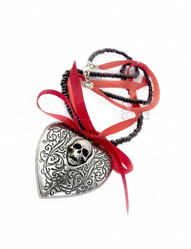 Медальон The Reliquary Heart Locket, 7