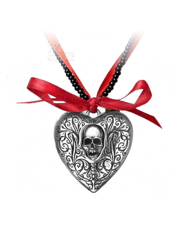 Медальон The Reliquary Heart Locket, 3