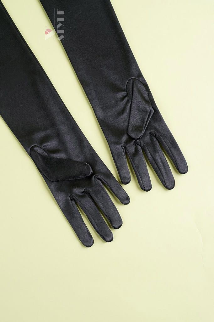 Длинные перчатки в стиле Ретро U1179, 3