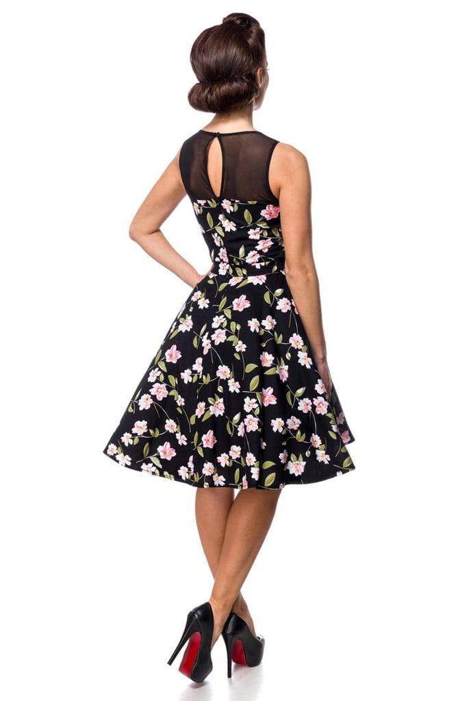 Платье в стиле Ретро с цветочным узором B5516, 5