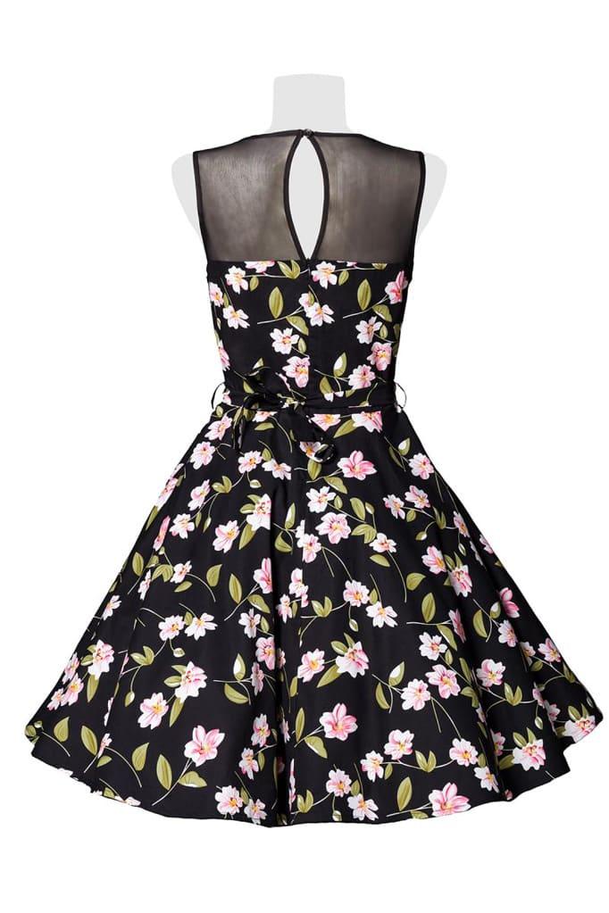 Платье в стиле Ретро с цветочным узором B5516, 7