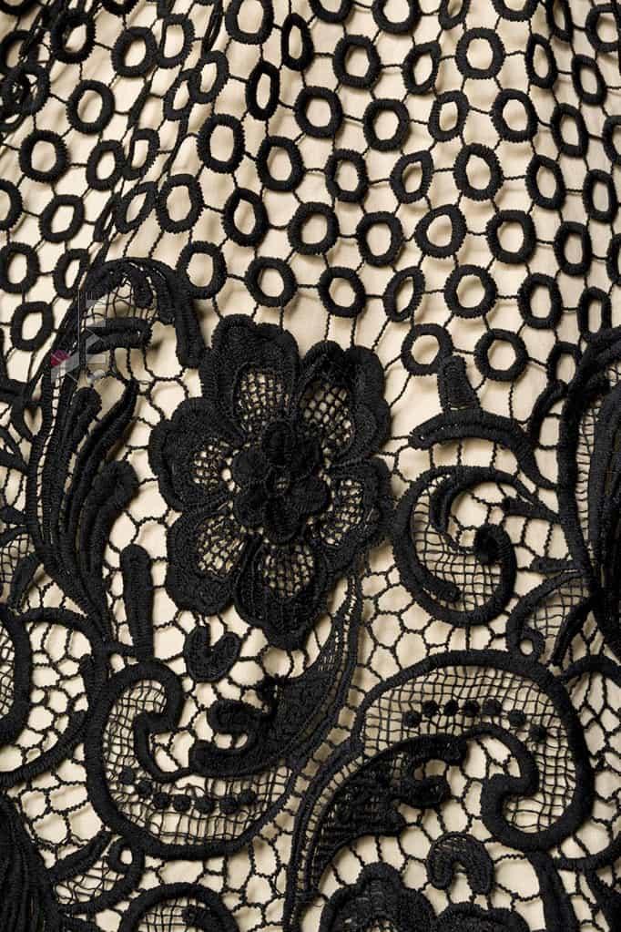 Винтажное платье с кружевом на юбке B5387, 3