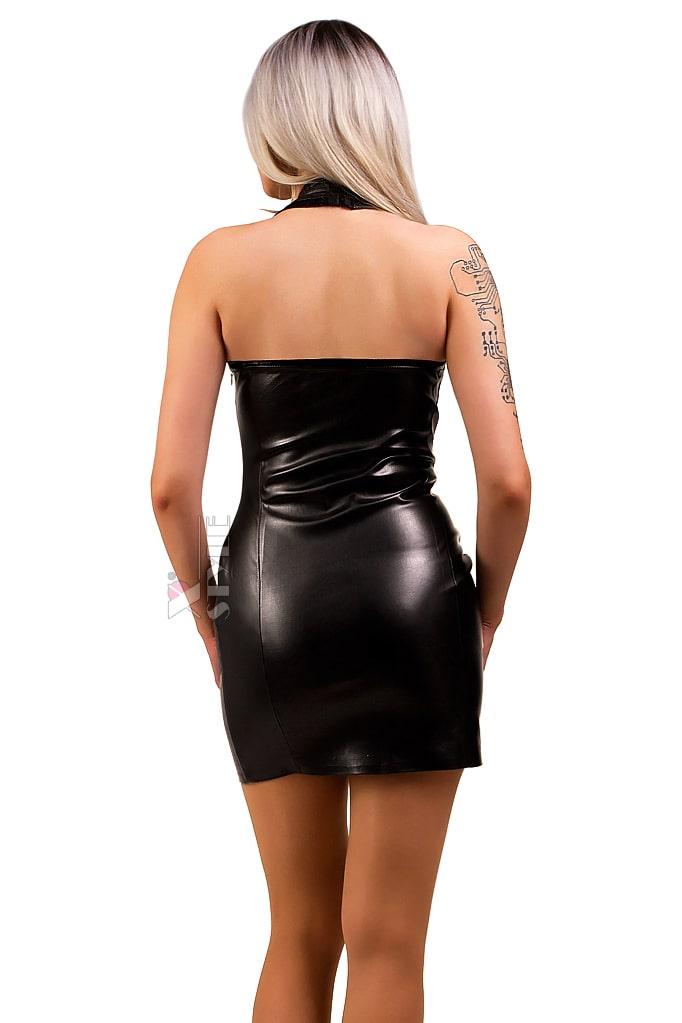 Кожаное платье X5440, 7