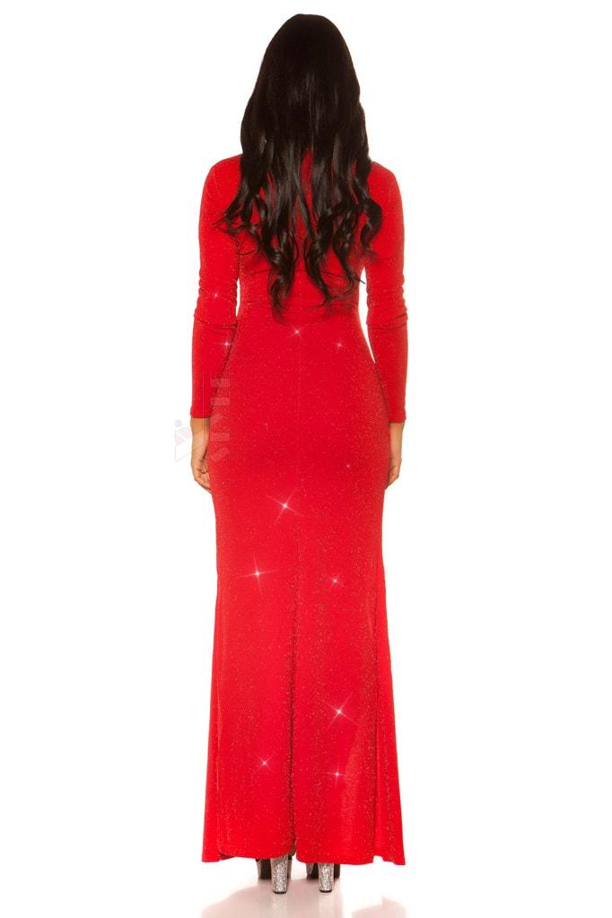 Длинное вечернее платье с блестками KouCla, 11