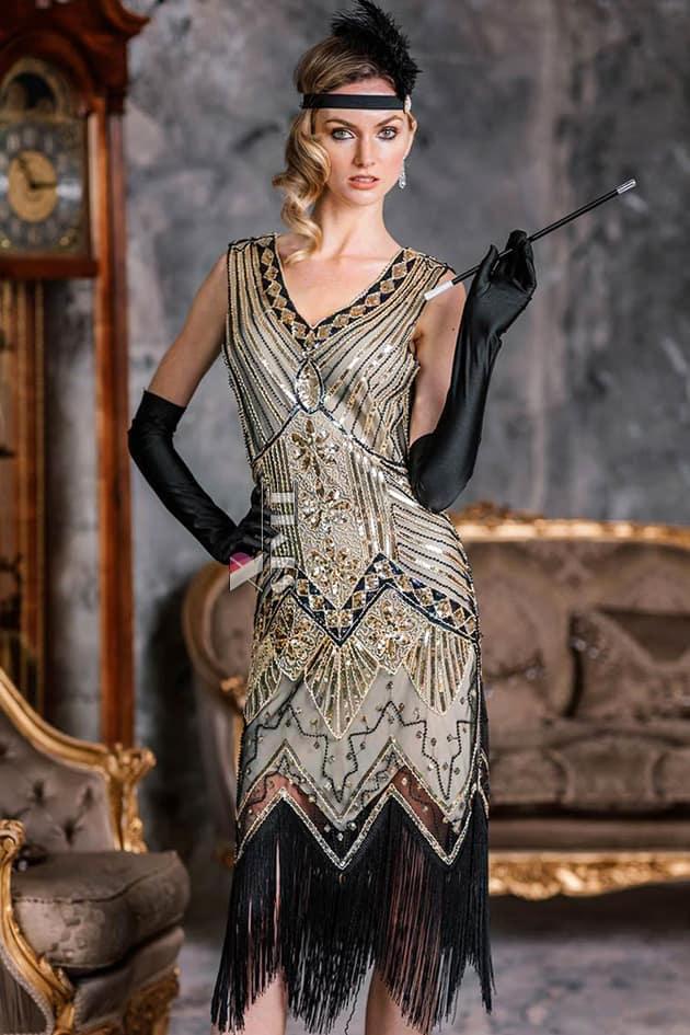 Платье в стиле Гэтсби XC5300