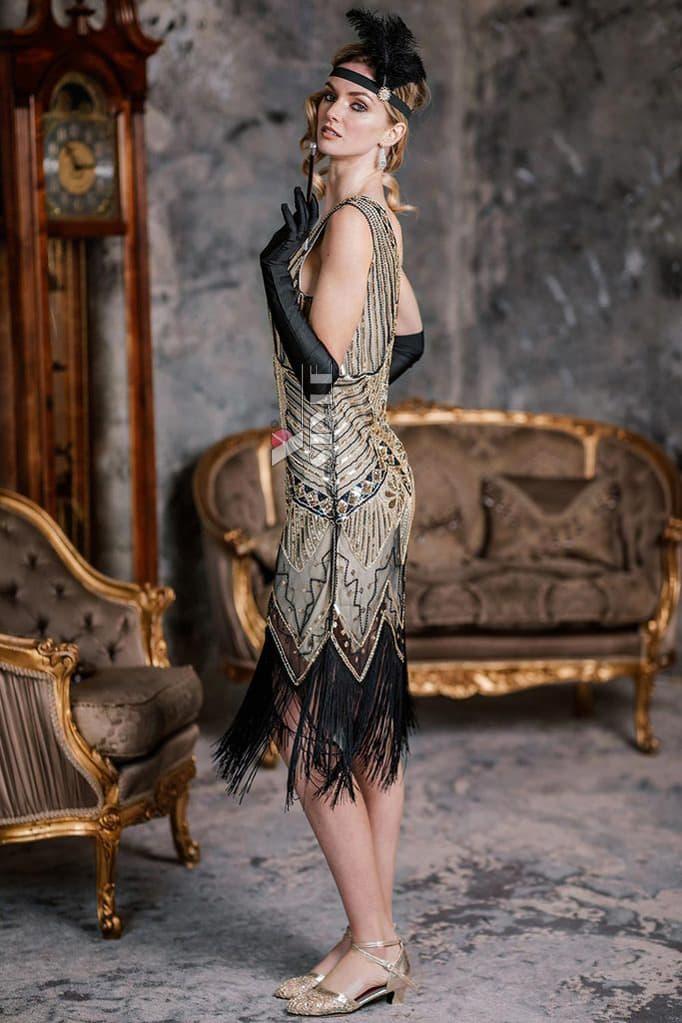 Платье в стиле Гэтсби XC5300, 3