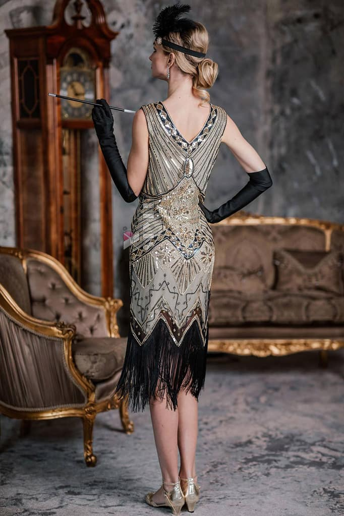 Платье в стиле Гэтсби XC5300, 5
