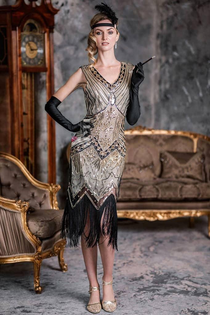 Платье в стиле Гэтсби XC5300, 7