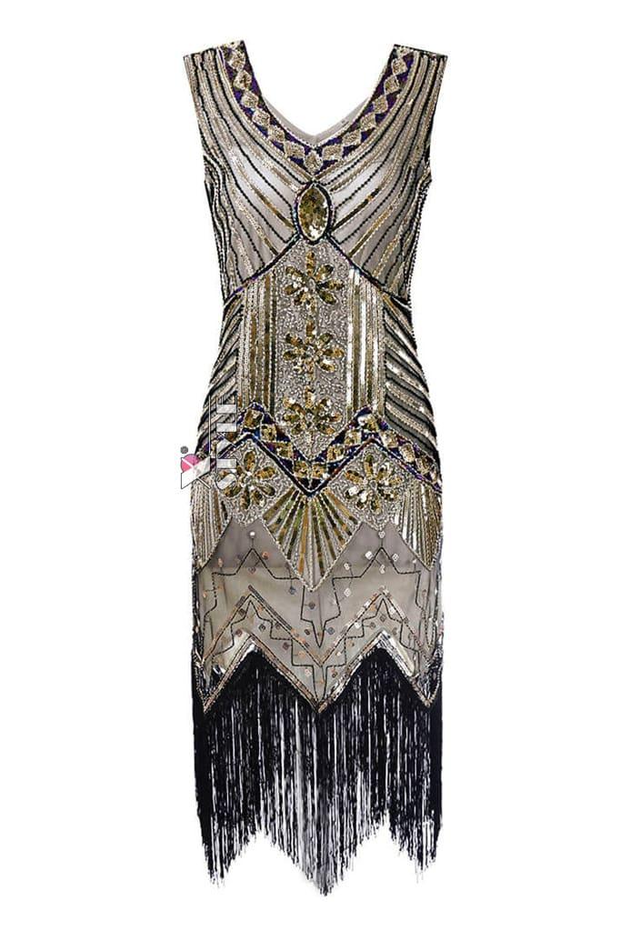 Платье в стиле Гэтсби XC5300, 9