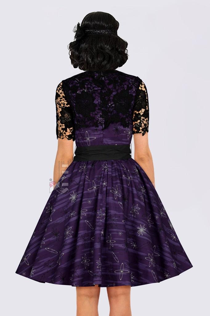 Платье с шалью и поясом XC5464, 3