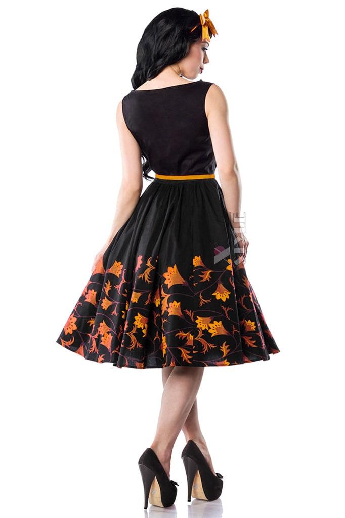 Платье Pin-Up с цветочным узором XC5457, 3