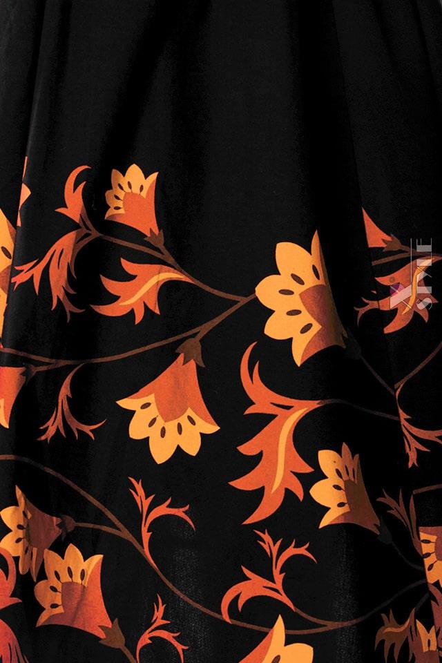Платье Pin-Up с цветочным узором XC5457, 5