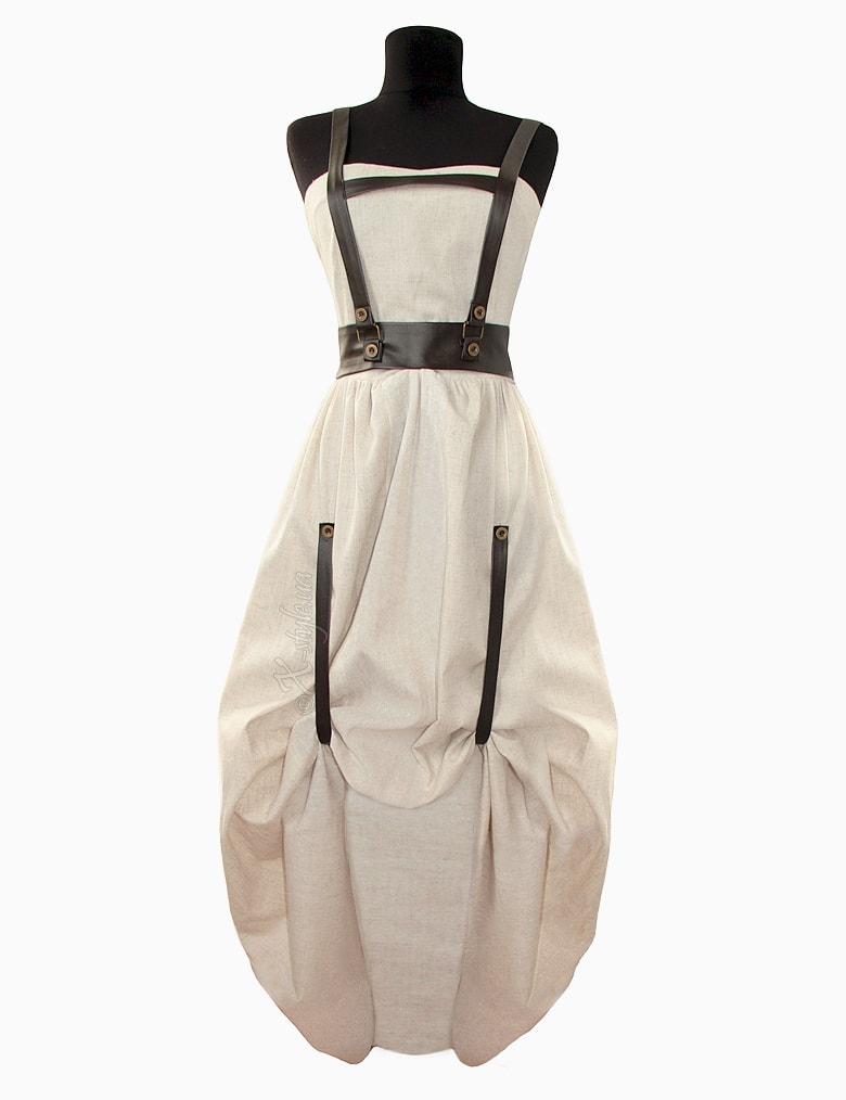 Длинное платье с портупеей XSTYLE, 3