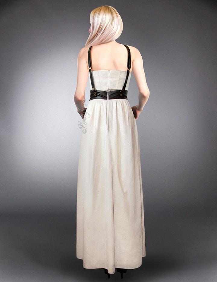 Длинное платье с портупеей XSTYLE, 5
