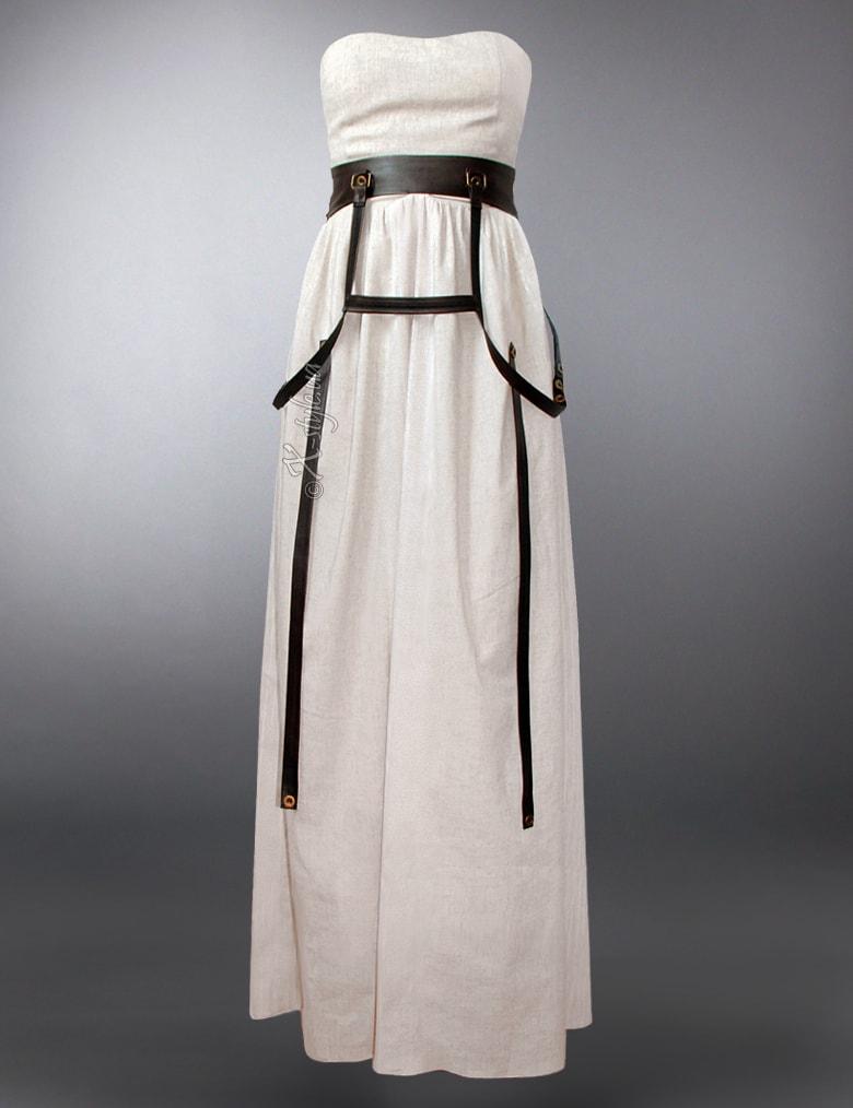 Длинное платье с портупеей XSTYLE, 7
