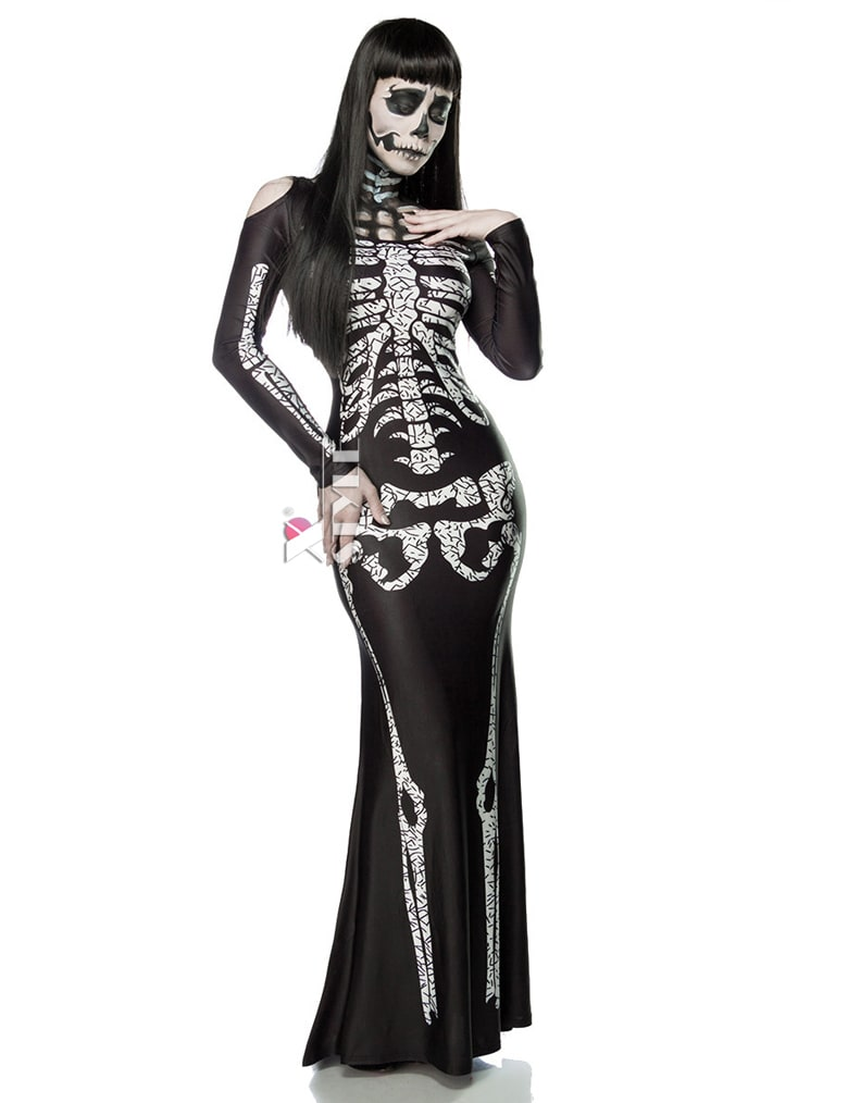 Платье Skeleton Lady