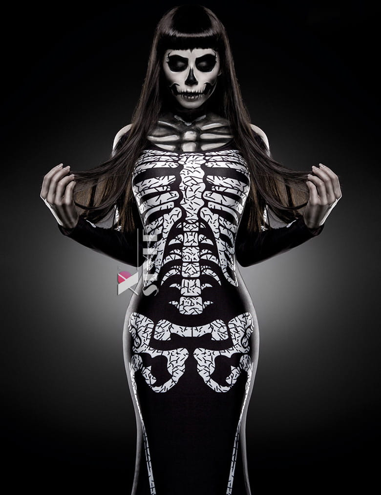 Платье Skeleton Lady, 5